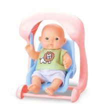 most popular 5 inch baby dolls mini vinyle doll with accessories for kids