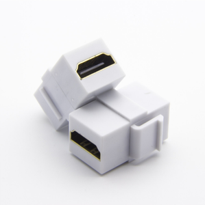 HDM Female keystone jack Coupler hdtv Module Connector Head F/F Adapter Cable for Wall Plate