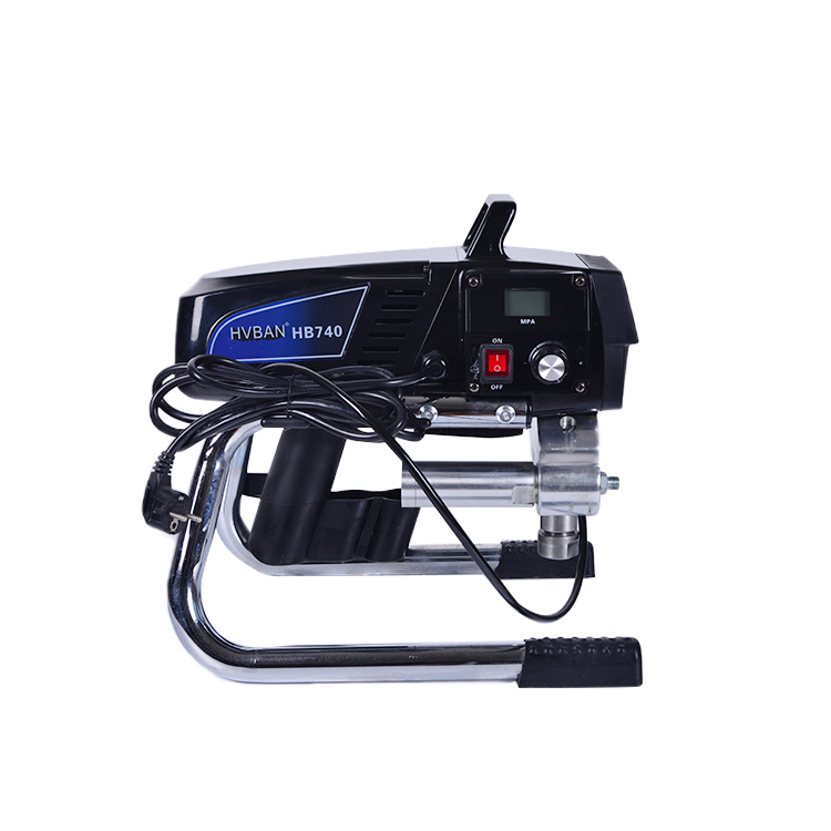 HB740 Electric HIGH PRESSURE Airless Sprayer with piston pump FOR AIRLESS GUN AND TIP