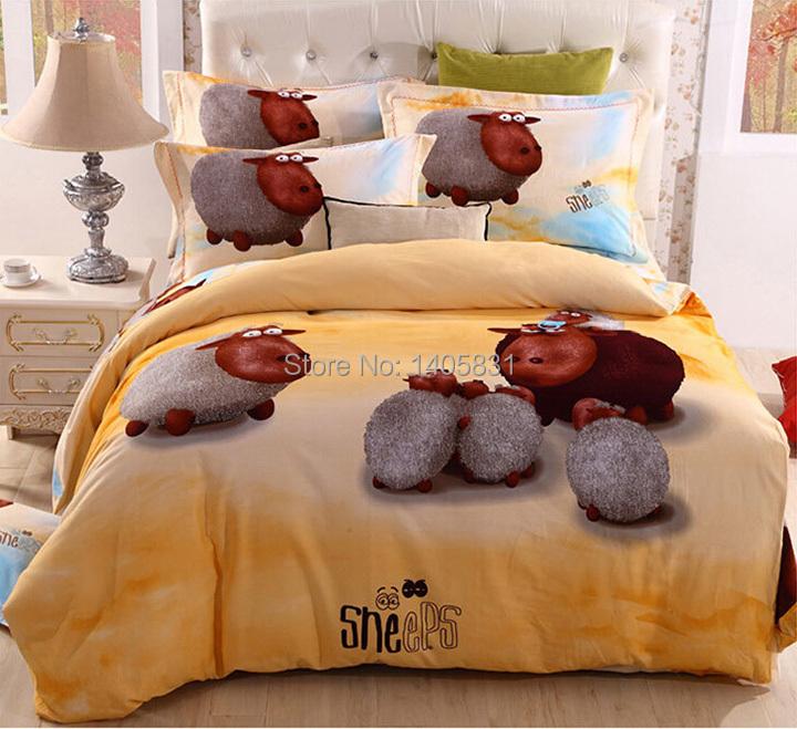 online kaufen gro handel schaf bettw sche aus china schaf bettw sche gro h ndler. Black Bedroom Furniture Sets. Home Design Ideas