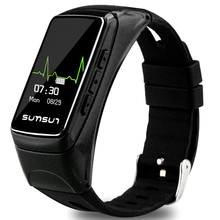 Intelligente Orologio Bluetooth 4.0 Auricolare Intelligente Bracciale Wristband Heart Rate Monitor Attivamente Inseguitore di Fitness per IOS Android