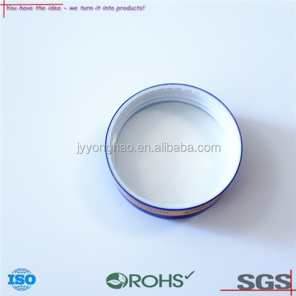 OEM ODM custom plastic jar wire drawing metal lid