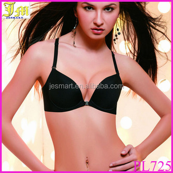 ab6acbc6f1 New Fashion Plus size Brassiere Ccup Front Closure Sexy Seamless Adjustable Push  up Bras Women Cotton