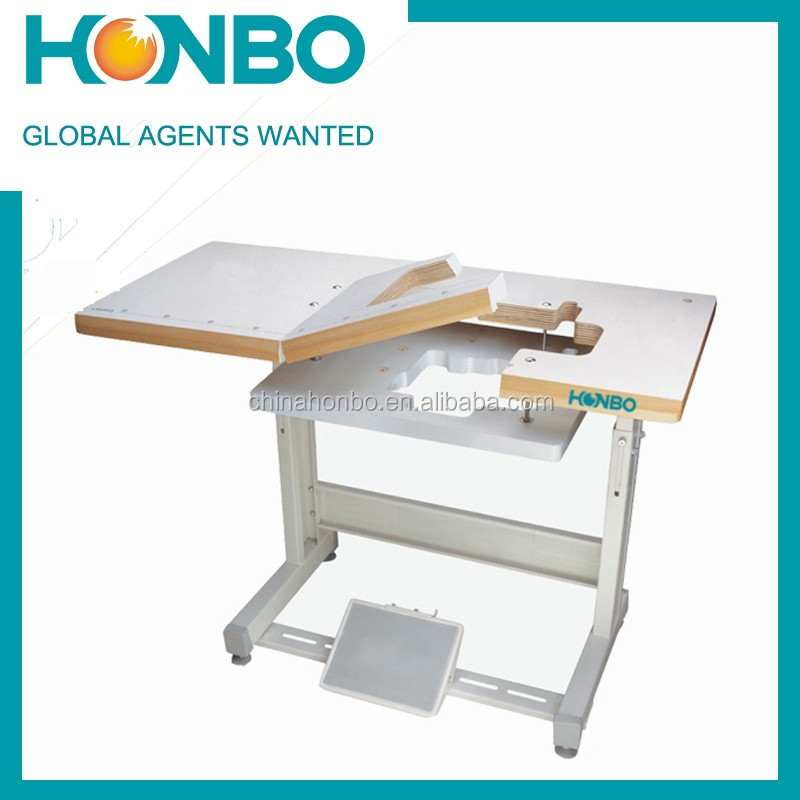 HB 1021 Good Quality Fully Submerged Industrial Sewing Machine Table Stand