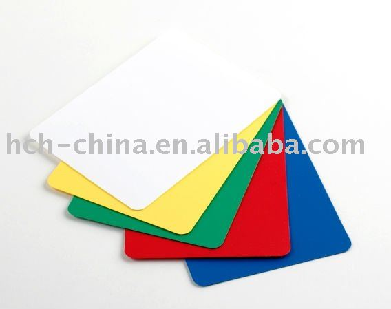 Plastic Poker Cut Cards 5 Colors