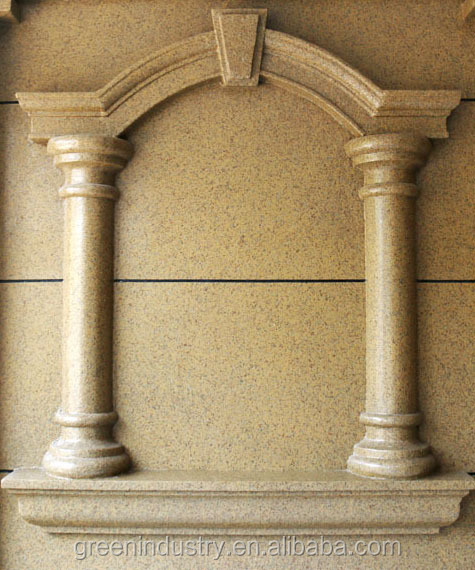 EPS Cornice Moulding Black Wall Decor For Wall Design