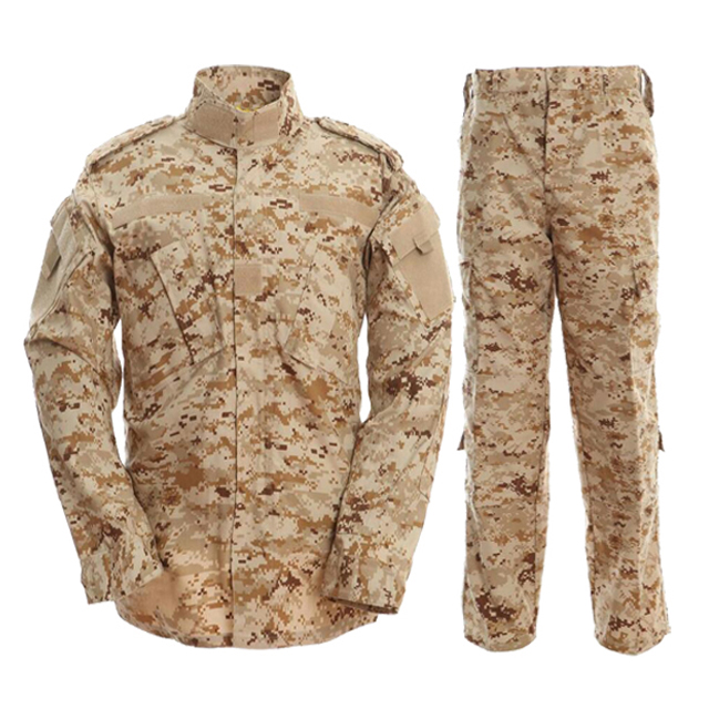Digital Greek Camo Military Uniform Clothes Army Training Combat Suits Battle Dress Uniform Suits  (ACU004)