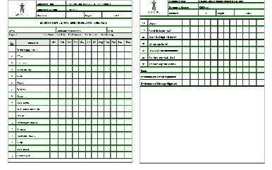 environmental hygiene checklist sample templates buy sample