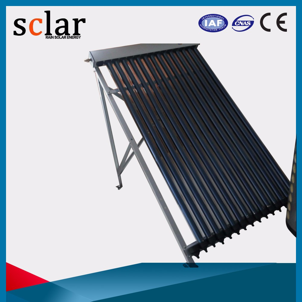 High tech heat pipe solar collector Swimming Pool Hotel hot water heater split system