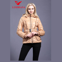 plus size women padded jacket