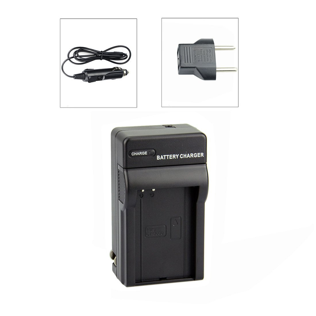 DSTE® CT-3650 DC128 Travel Charger Kit for VholdR ContourHD VholdR ContourGPS VholdR Contour2+ Digital Camera Battery
