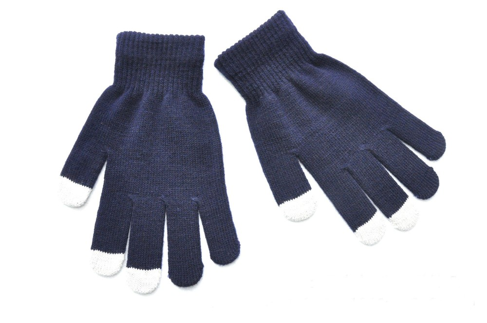 Custom Winter Gloves Touch Screen Gloves Acrylic Gloves & Mittens