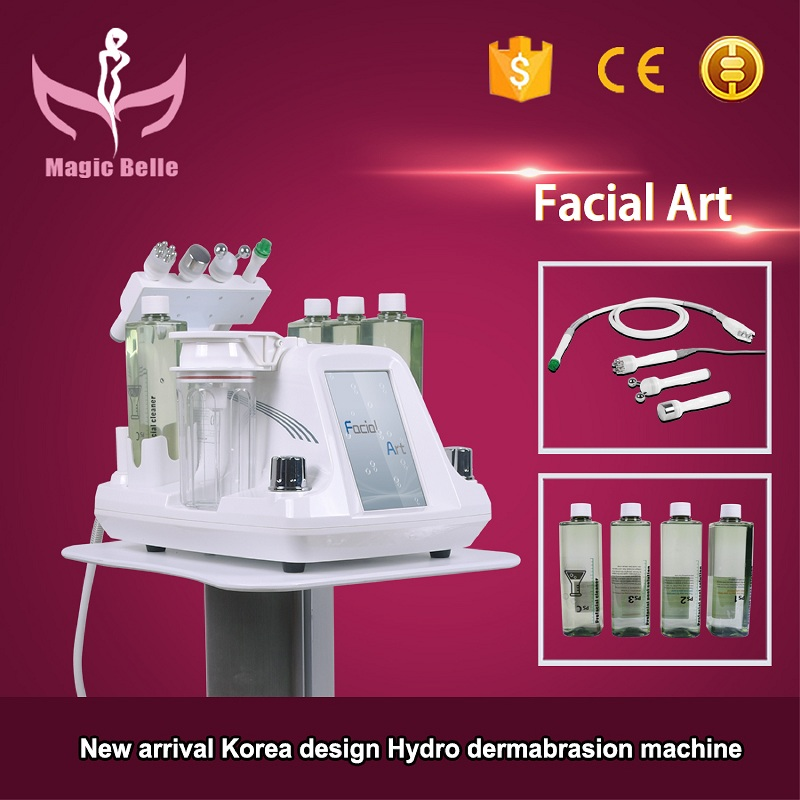 2017 MagicBelle facial art fractional rf diamond dermabrasion machine with CE
