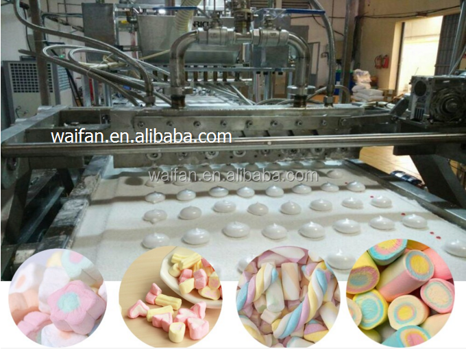 Marshmallow floss making machine/candy floss machine/candy production line