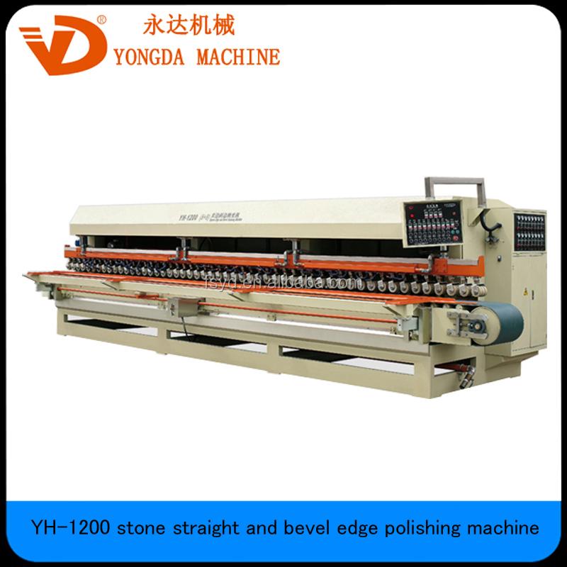 YH-1200 (6+6) stone straight edge bevel polishing machine