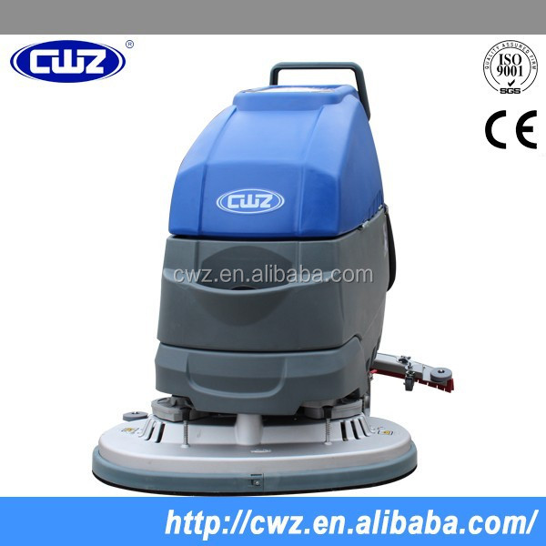 Portable Ground Hand Held Electric Floor Scrubber