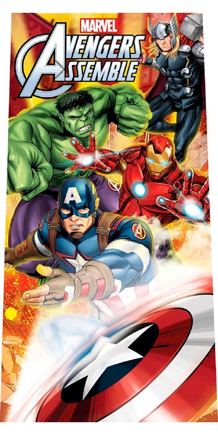 Marvel Towel Avengers Captain America (300G.100% Cotton)