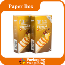 Good for promotion with fair price custom condoms packaging box