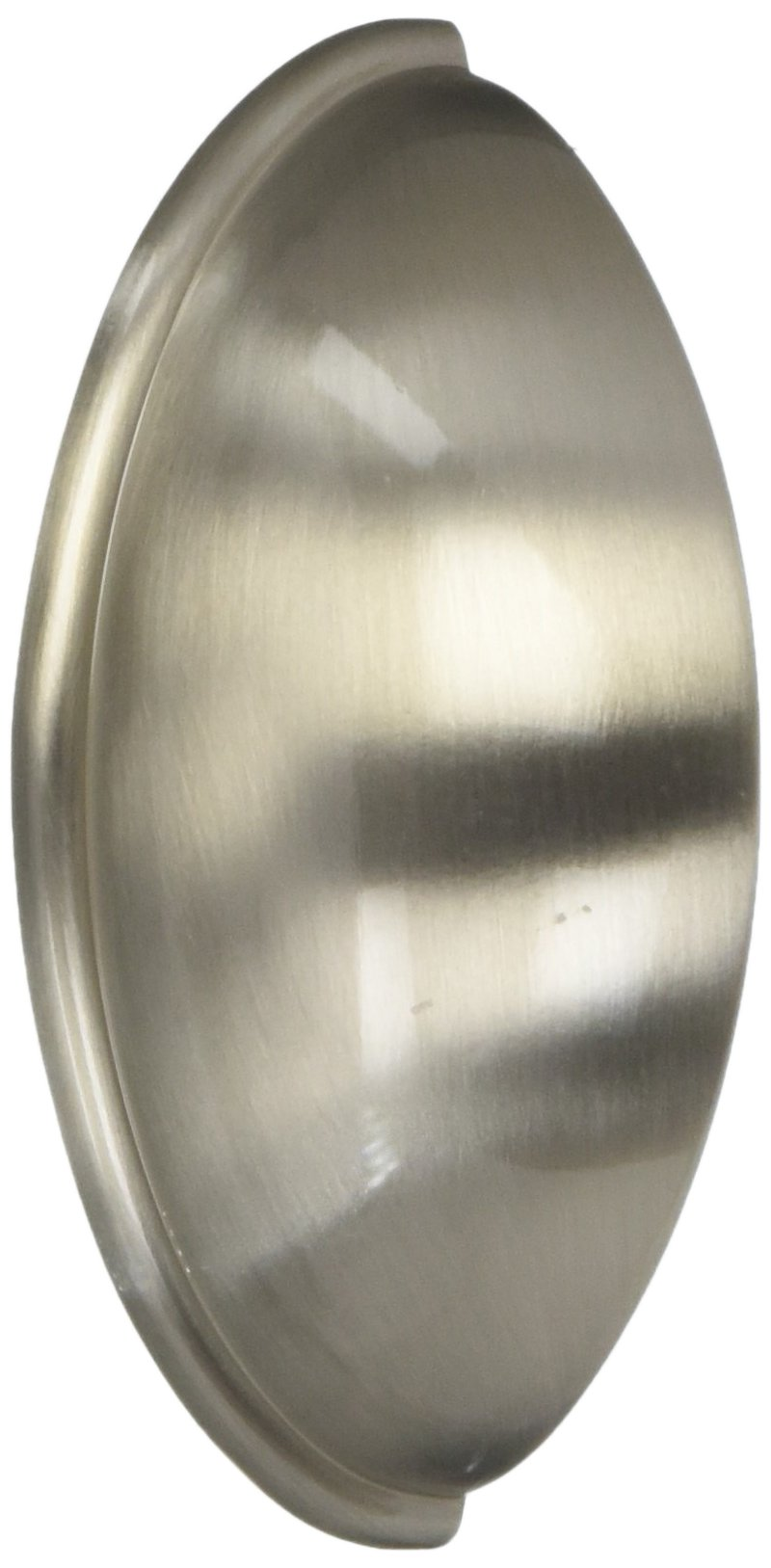 4-1//2 Overall Length Hole Centers 10 Pack 3-3//4 96mm Amerock BP53702-G10 Satin Nickel Cabinet Hardware Kane Pull