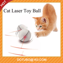 Pet Dog Cat LED Luce <span class=keywords><strong>Laser</strong></span> Giocattoli Interactive Elettrico LED Flash Light Sfera di Rotolamento Funny Cat Exrecise Toy Balls