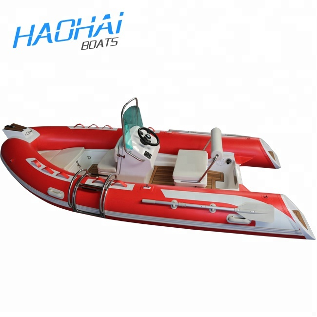 Used Fishing Boats For Sale >> Ce 14 1ft Rigid Hull Fiberglass Inflatable Used Fishing Boats For Sale View Rigid Hull Inflatable Boats Haohai Product Details From Qingdao Haohai