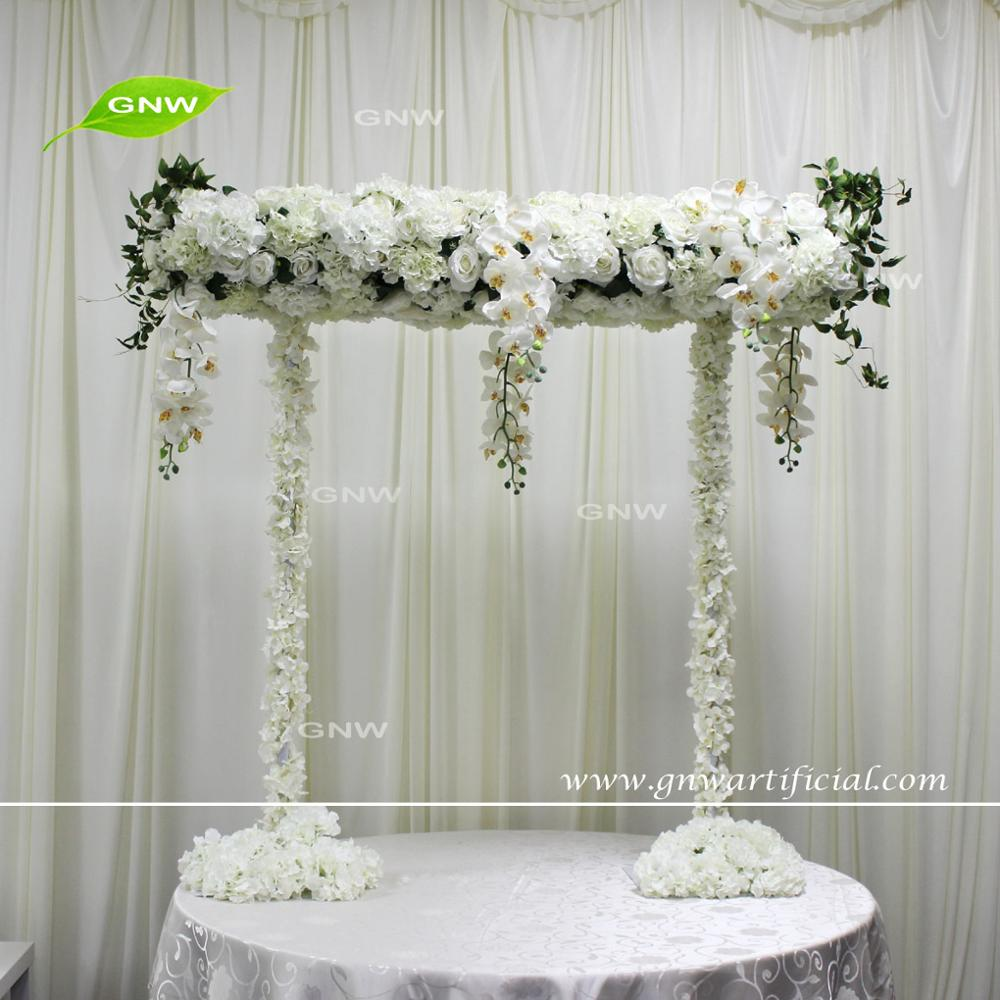 Gnw Elegant Artificial Silk Blossom Design New Floral Stand Wedding ...