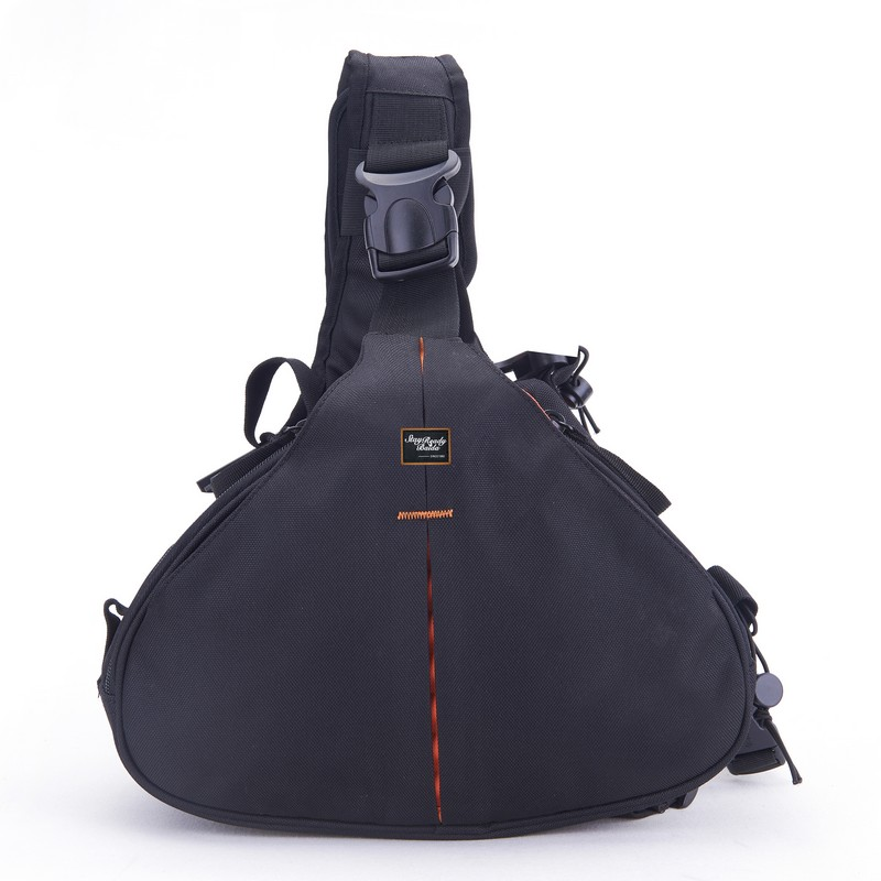 Easy taking waterproof single shoulder strap polyester camera bag dslr