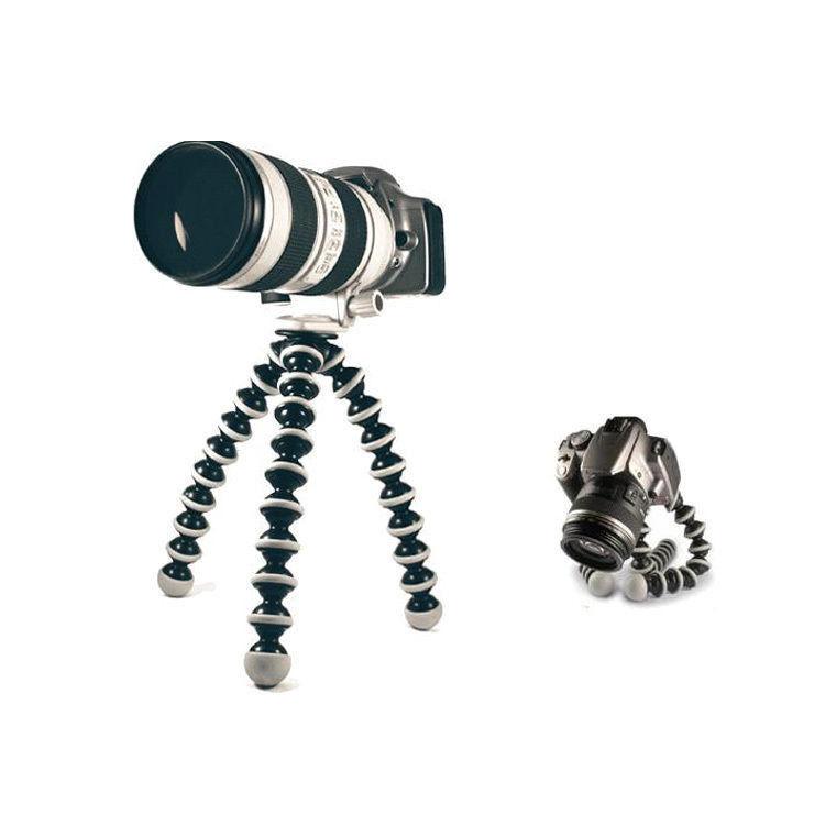 G Bl Stand Octopus Black Flexible DV Camera Holder