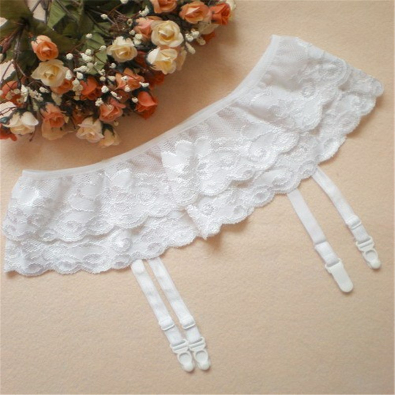 Wedding Leg Garter: Wholesale Lace Cheap Leg Garter Belt For Stockings Sexy