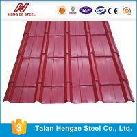 Light Weight Carport Roofing Material/HENGZE Price Of Corrugated PVC Roof Sheet/PVC Plastic Roof Tile For Residential House
