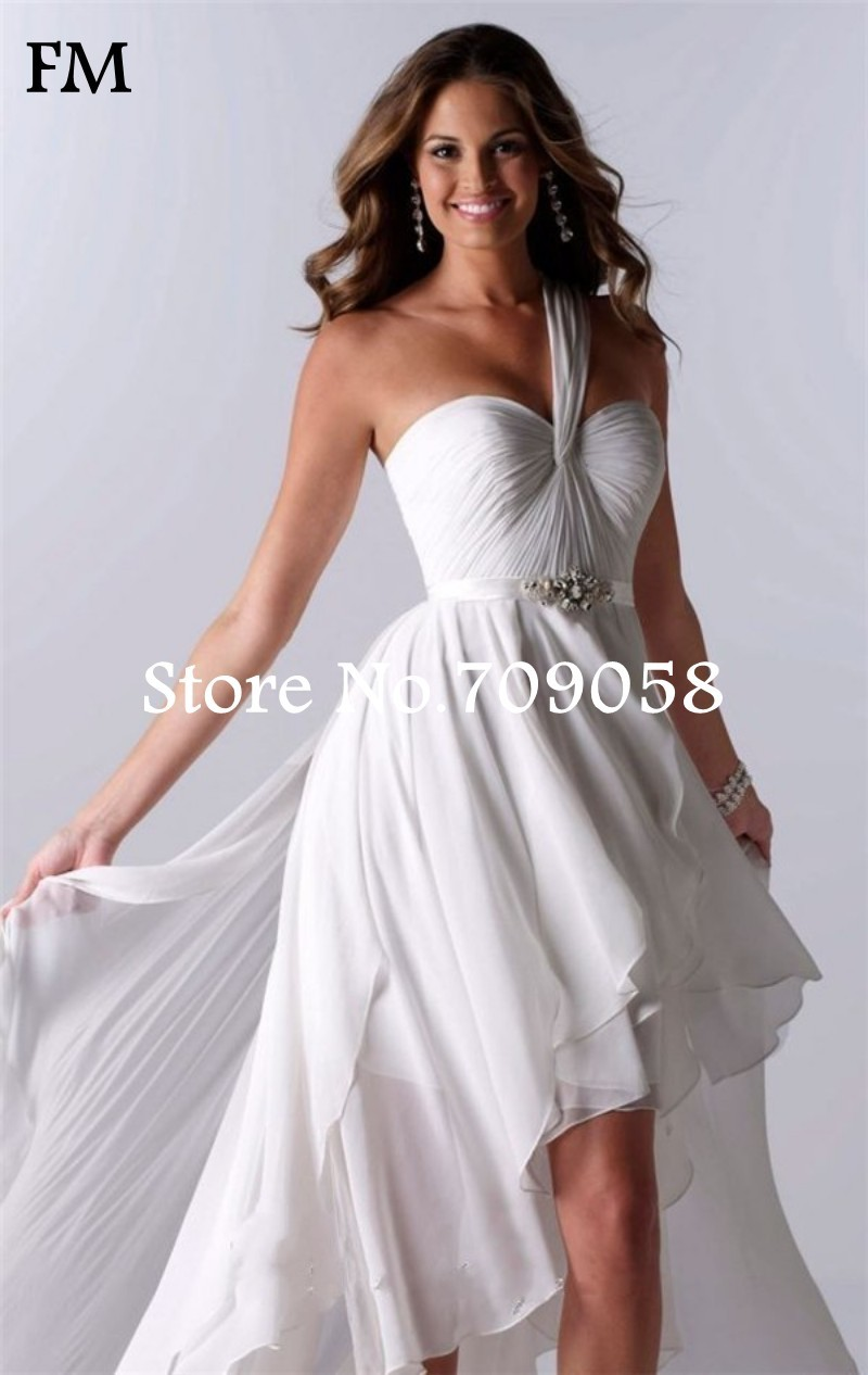 Simple Backless Beach Wedding Dresses Saddha