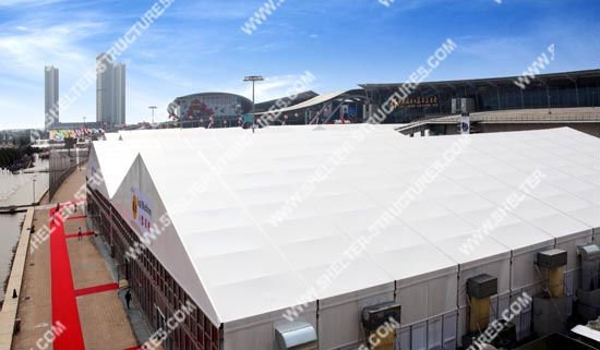 United Arab Emirates permanent clear span tent