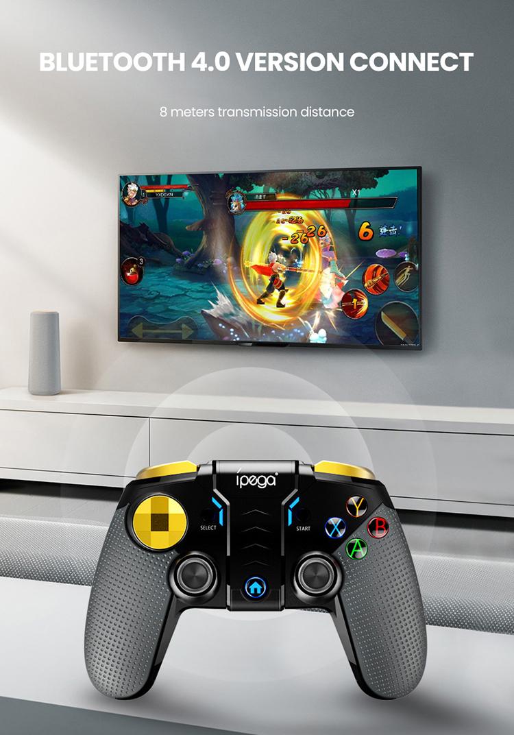 PG 9118 Wireless Bluetooth Gamepad Multimedia Game Controller