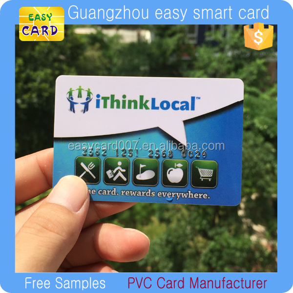 ISO14443A MF1 Classic 1kb NFC Business Card/ Programmable NFC Card