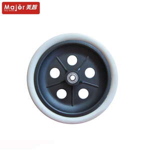 8x1.5 foam bike stroller pu wheel,baby carridge/wheelchair polyurethane wheel