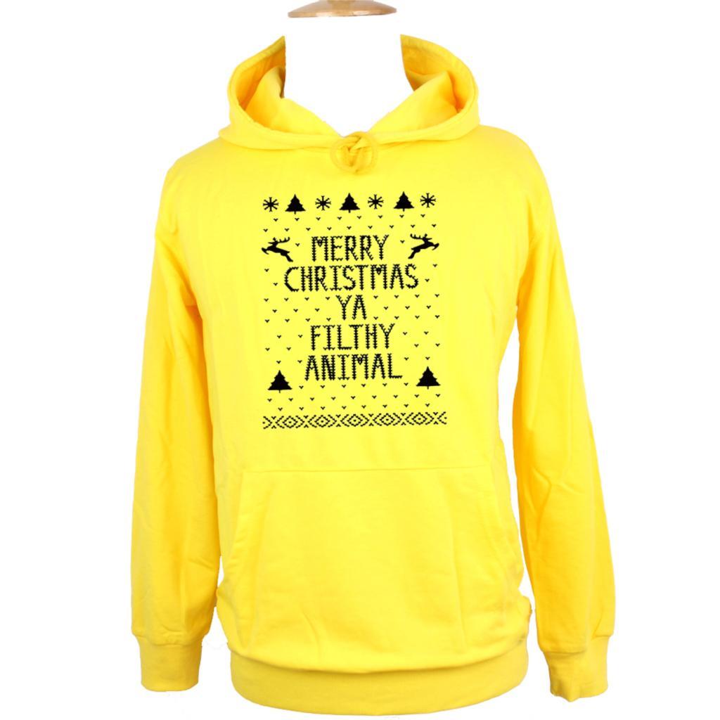 Merry christmas ya filthy animal sweater mens