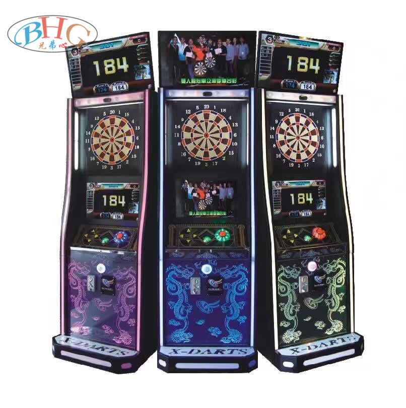 entertainment arcade game electronic dart machine for club
