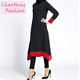 076# Long sleeve tunic tops islamic clothing dubai muslim abaya dress for women muslimah blouse