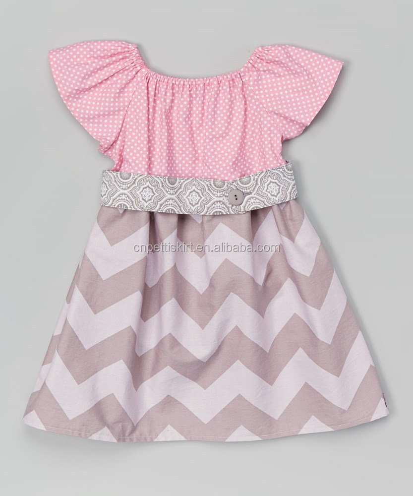 pink/French grey baby/girls boutique children long dress /child/kid clothing manufacture wholesale/skirts