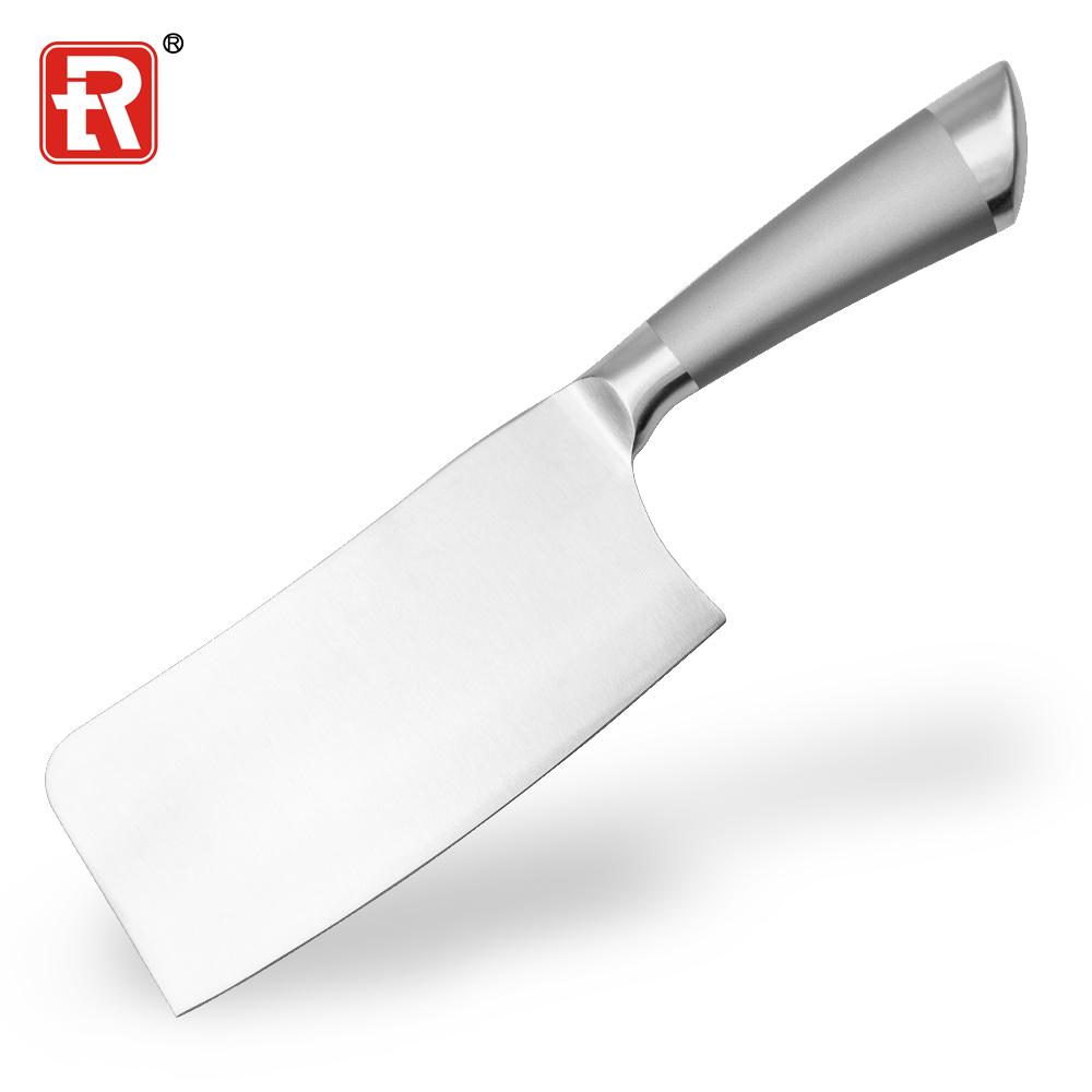 Cina Produsen Kualitas Tinggi Stainless Steel Cleaver Knife