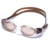 Auto clips TPR one piece gasket adults swimming goggles