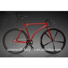 3 spokes fixed gear bicycle 700C fixed gear bikes steel frame fixie