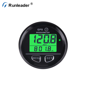 Runleader Waterproof Mini GPS Speedometer For Car Motorcycle ATV Boat