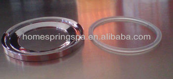 bathroom glass basin bowl vessel sink mounting ring sanitary ware manufacturer china