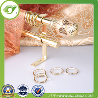 D0009 New design curtain rods and rails/ double curtain rods and rails