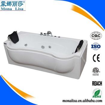 Monalisa Factory Price Extra Large Portable Bathtub Jet Spa Plastic Combo Mas
