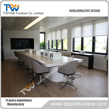 China Supplier Artificial Marble Stone Trapezoid Conference Table - Trapezoid conference table