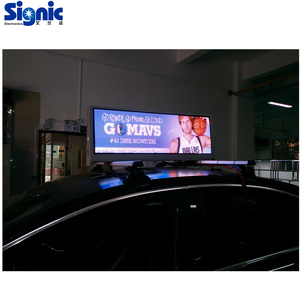 full automatic smd led assembling machine outdoor digital video P5mm led taxi roof sign