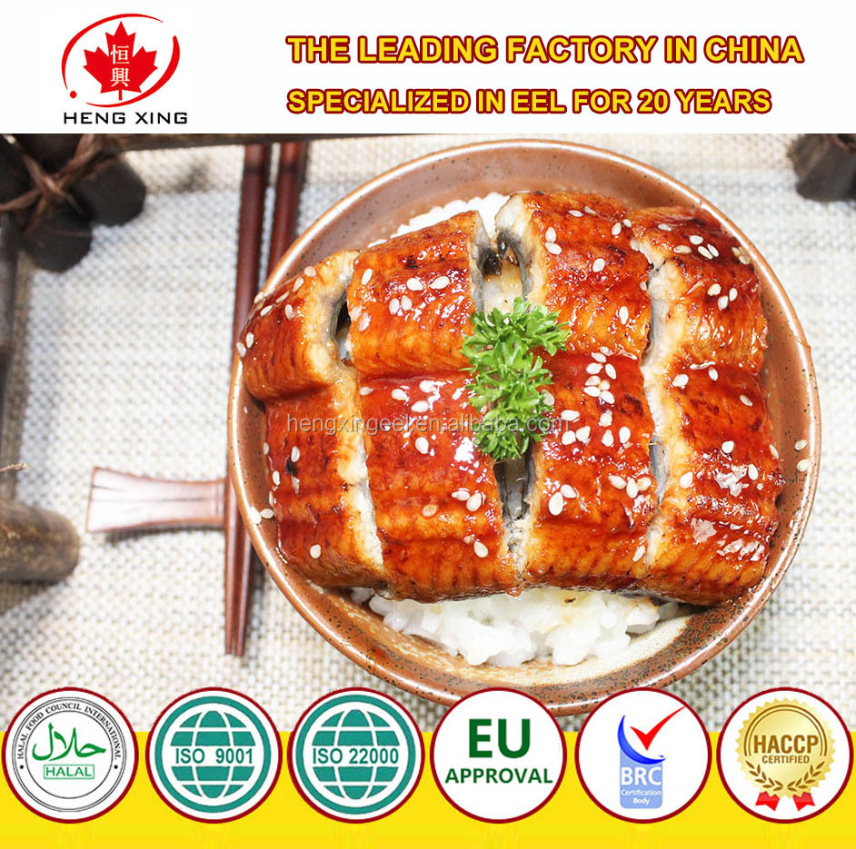 Frozen Roasted Eel with high quality and factory price (Unagi Kabayaki) fresh water eel