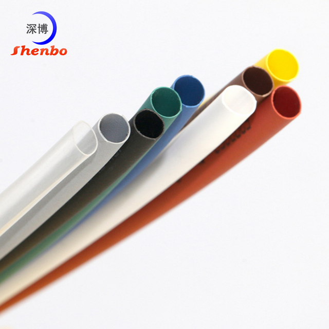 Electrical adhesive lined heat shrink sleeve